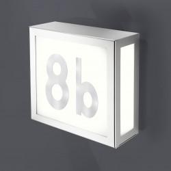 Verlicht husnummer