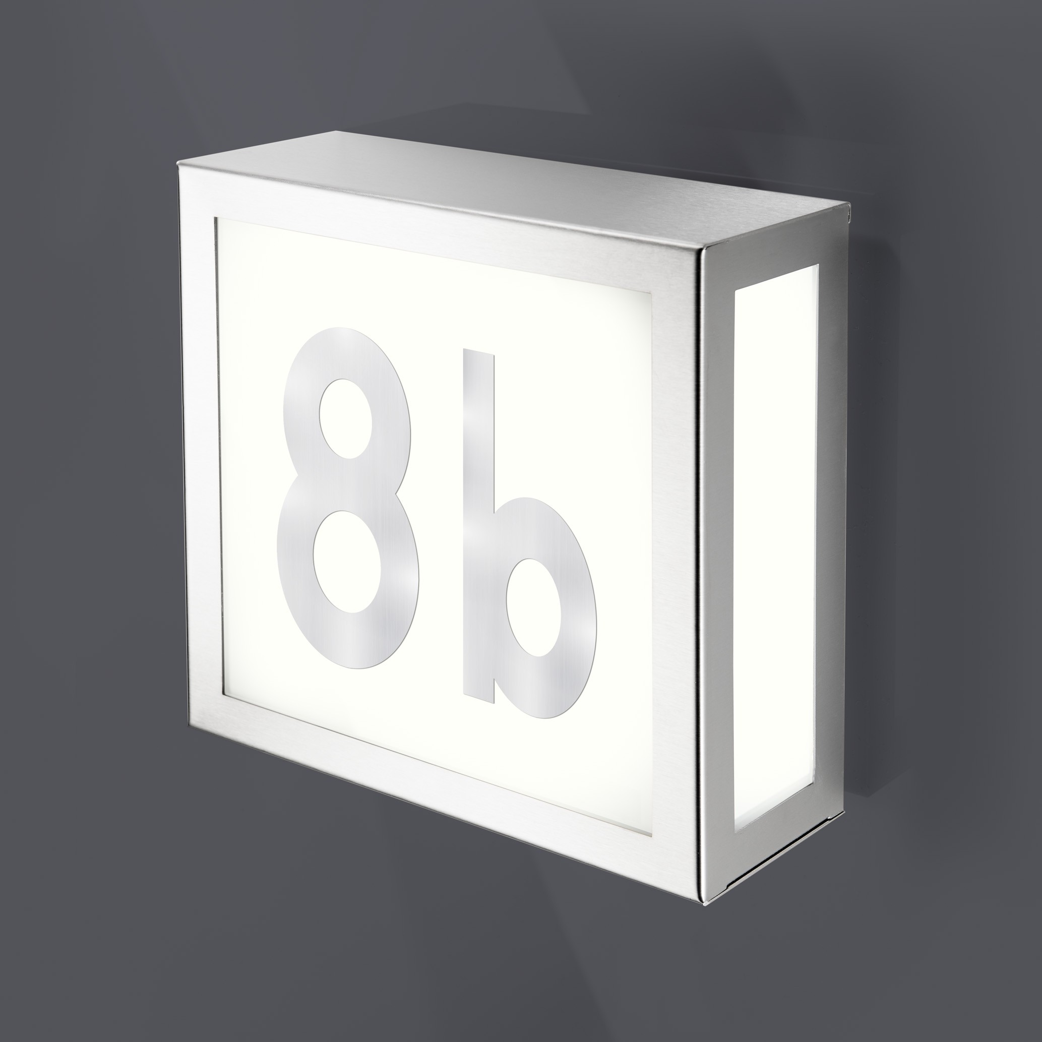 Verlicht husnummer - Agenturen RRA