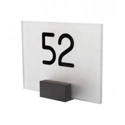Led verlichthuisnummer