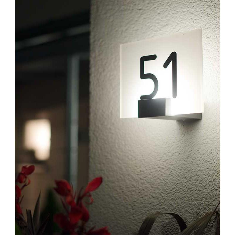 Led verlichthuisnummer - Agenturen RRA